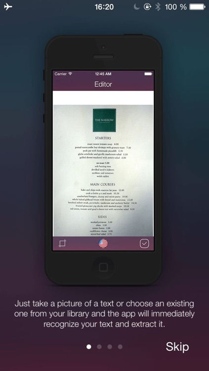 Scanner with OCR (Optical Character Recognition) - Document Scan to PDF,  Email and word & Translation by SwissMadeApps