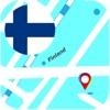Финляндия оффлайновый Карта