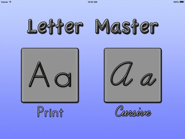 Letter Master: learn to write the alphabet, handwriting worksheets ...