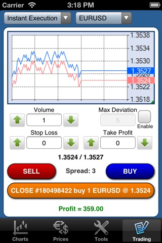Forex On The Go Premium screenshot 4
