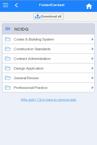 NCIDQ Flashcards screenshot 1