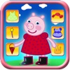 Dressing Up Pig Game For Kids