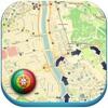 Portugal offline road map. Free edition with Lisboa, Porto, Faro, Lagos