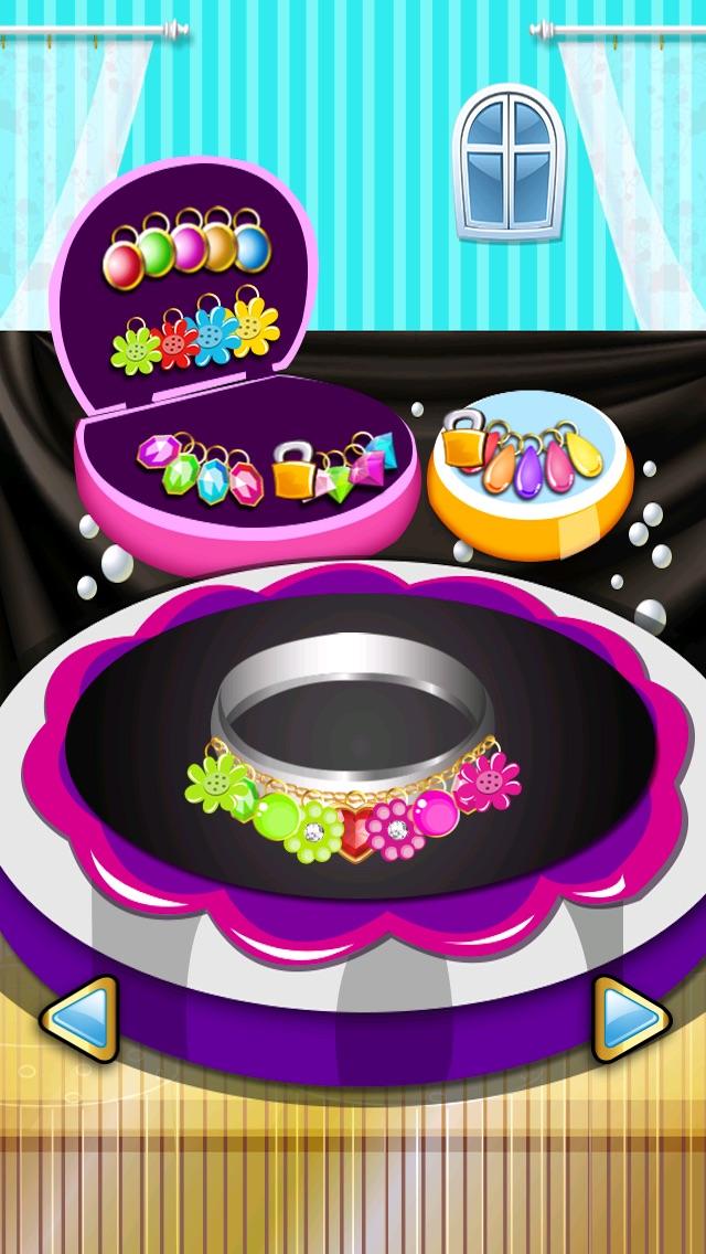 宝石化粧メーカー-小さな妖精の人魚の女の子-無料シックなファッションにドレスアップ ゲームのスクリーンショット2