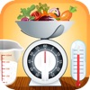 Convertitore di Cottura Pesi facile e veloce convertire ingrediente, volumi e temperature.