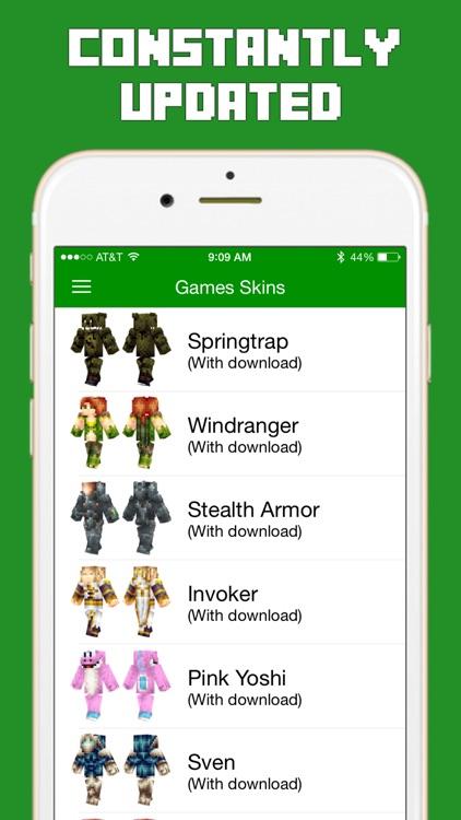 Skins For Minecraft Pocket Edition PE By Alpha Labs LLC - Descargar skins para minecraft pe yoshi