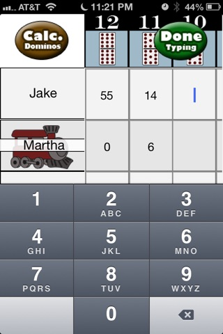 Mexican Train Scorecard screenshot 1