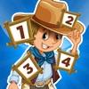 123 Aktiv! Spiel zu lernen, Zahlen zählen für Kinder mit Cowboys und Indianer