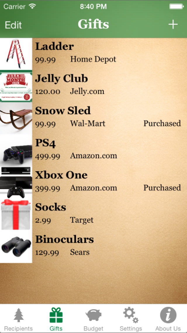 Santa's List - Christmas Gift Organizer screenshot four