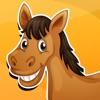 Attivo! Gioco per i bambini di età 2-5 con i cavalli: Imparare per la scuola materna, scuola materna o asilo nido scuola del cavallo, pony, equestre, stallone, e degli animali