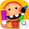 Kidfinity Pots & Paints: Drawing, Coloring & Painting Book for Kids in Preschool & Kindergarten
