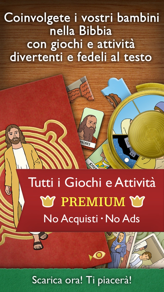 Screenshot of I Giochi della Bibbia Premium – Con attività per la famiglia e la scuola ( bambini oltre 7 anni )1