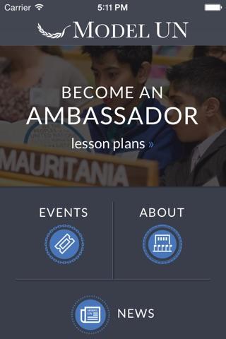 Model United Nations screenshot 1