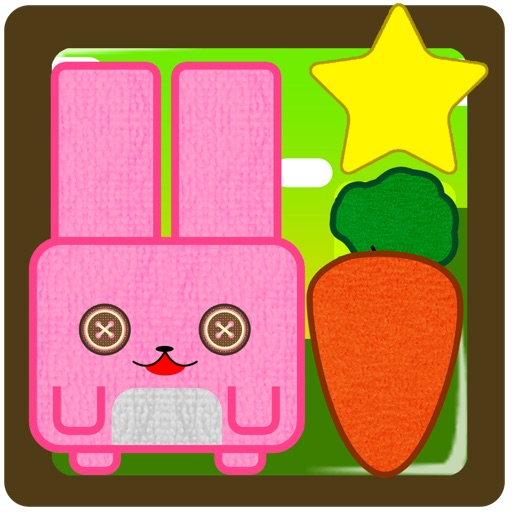 Bunny hill - connect ropes and feed the pink cube rabbit funny game PREMIUM by The Other Games iOS App