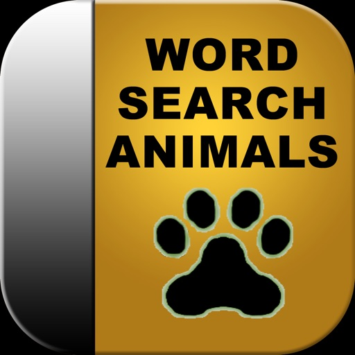 Animal Word Search iOS App