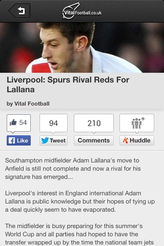 Vital Football screenshot 2