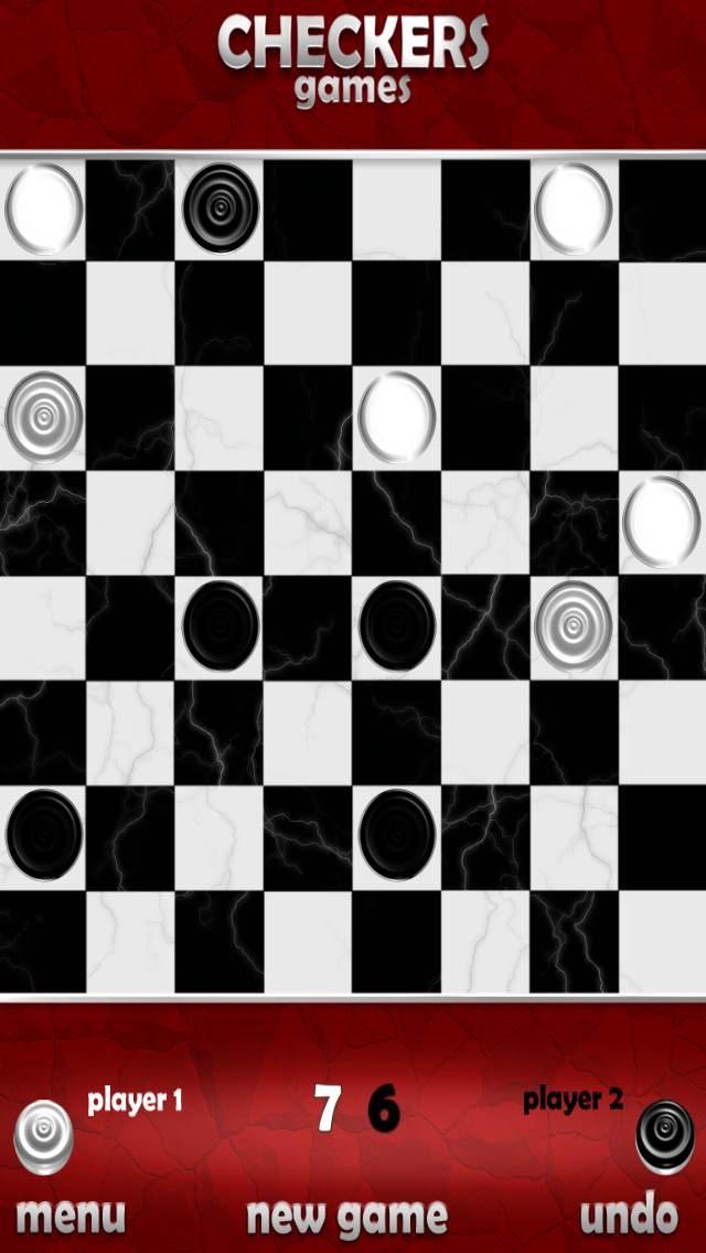 Screenshot of Gratuita Checkers gioco3