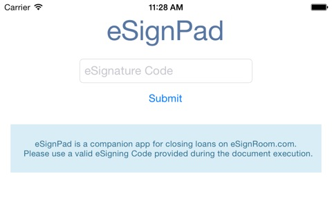 eSignPad screenshot 1