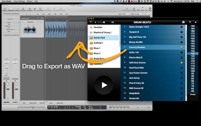 Screenshot #2 for Drum Beats+ (Rhythm Metronome, Loops & Grooves Machine)