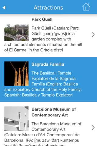 Barcelona (Spain) Guide, Map, Weather, Hotels. screenshot 4