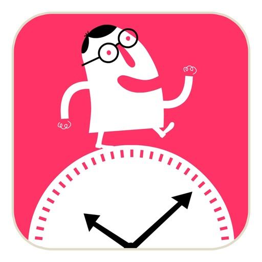 J'apprends à lire l'heure iOS App