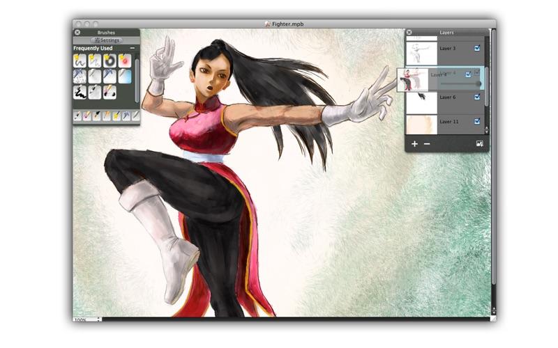 My PaintBrush Pro Screenshot