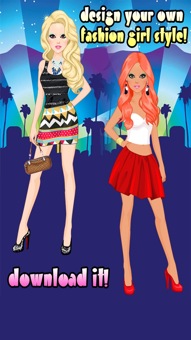 Fashion Beauty Star Boutique Design Style Dress Girls Game For Shopping Dress Up App