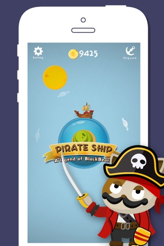 Pirate Ship : A legend of Blackbeard screenshot 1