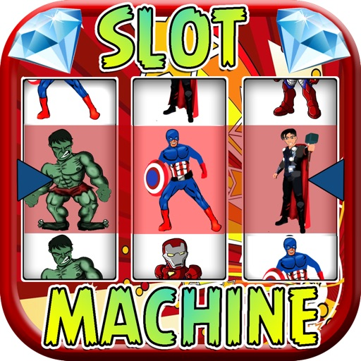 Avengers slot machine
