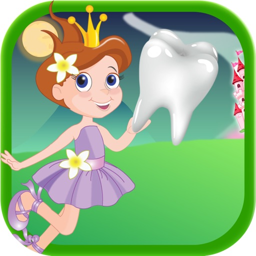 Enchanted Baby Tooth Fairy Story FREE - Collect and Catch the Tooth Falling Down Game iOS App
