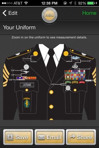 iUniform ASU - Builds Your Army Service Uniform screenshot 3