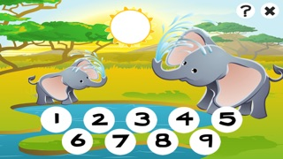 Screenshot of 123 Primo-s & Count-ing Learn-ing Game With Wild Animal-s For Kids1