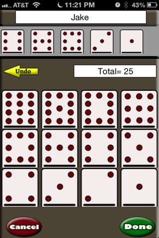 Mexican Train Scorecard screenshot 2