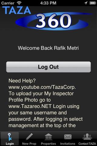 TAZA360 screenshot 2