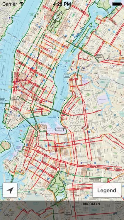 NYC Bike Map 2013 by Minima Software