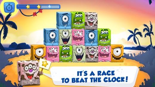 Tip Tap Monsters - Family Mahjong Game Screenshot