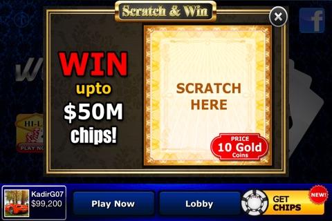 World Table Poker - Texas Hold'em Tournament screenshot 4
