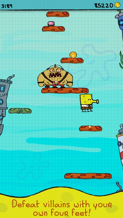 Doodle Jump Spongebob Squarepants By Nickelodeon