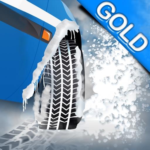Winter Snow Tires Agility Race : The Arctic Car Ice Traction Road - Gold Edition iOS App
