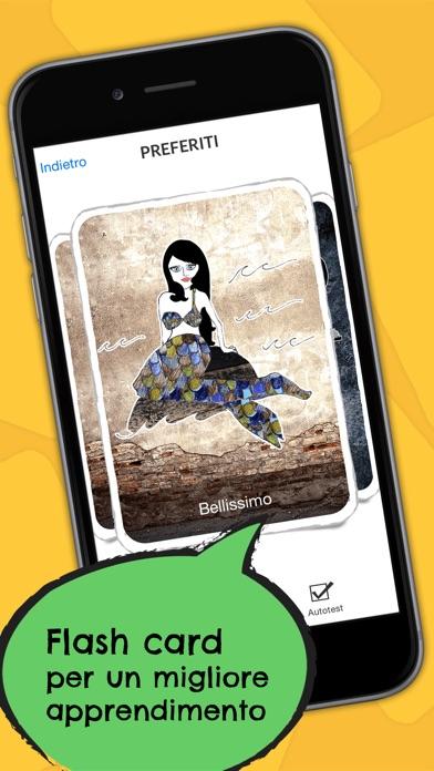 Screenshot of Hindi Dizionario - Frasario offline gratis con flash card e registrazioni di un madrelingua3