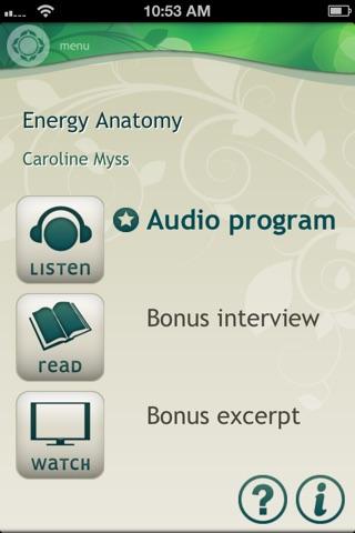 Download Energy Anatomy - Caroline Myss app for iPhone and iPad