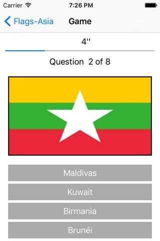 Banderas-Asia screenshot 1