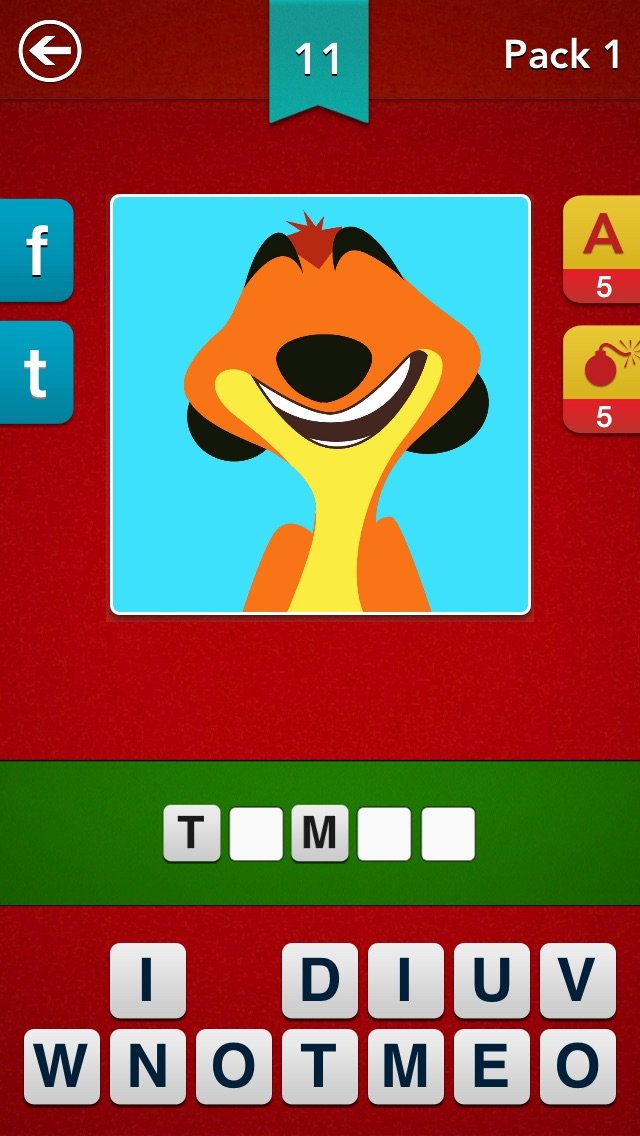Screenshots of Cartoon Quiz ~ Guess the Cartoons! for iPhone