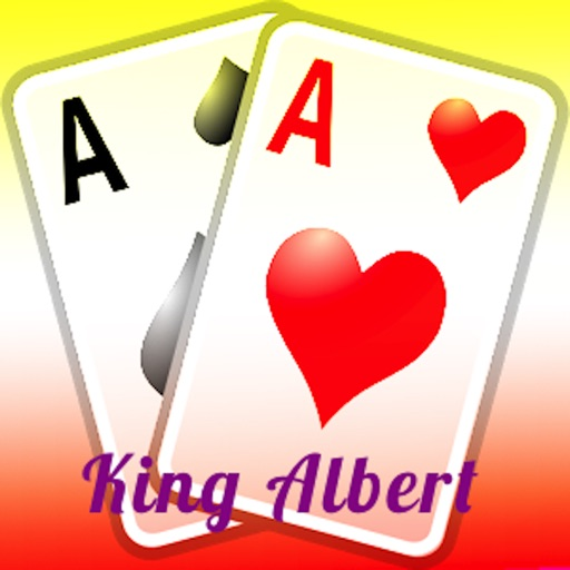 Classic King Albert Card Game iOS App