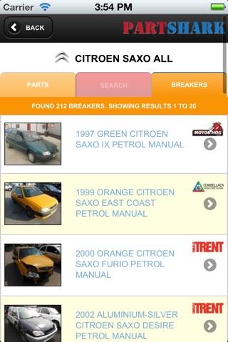 PartShark Car Spares screenshot 4