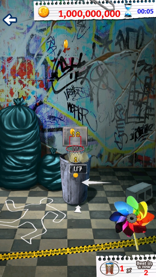 Screenshot of Basket Paper Flick Pocket Pro - La Top Basket tiro libero gioco della galleria1