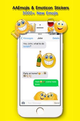 AA Emojis Extra Pro - Adult Emoji Keyboard & Sexy Emotion icons gboard for kik Chat screenshot 1