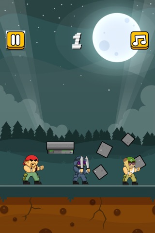 Army! Hit, Kick and Punch Like Crazy screenshot 1