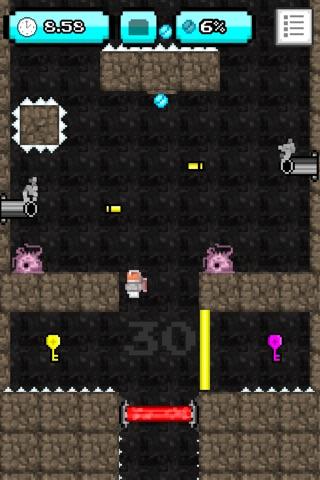 8-bit Jetpack - Pixel Art Platformer screenshot 2