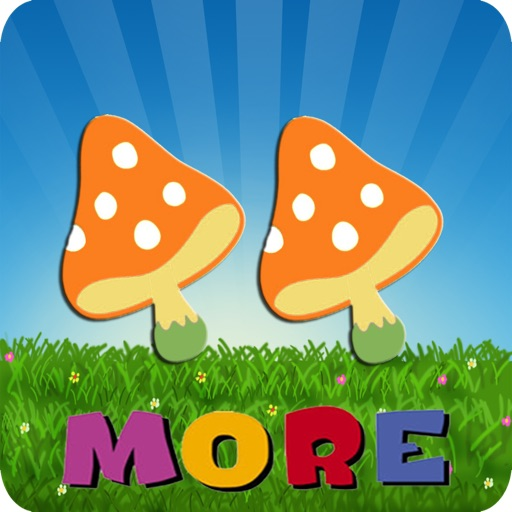 Bear And Deer:More And Less-Count, Comparative Figures :Kids Math Game iOS App